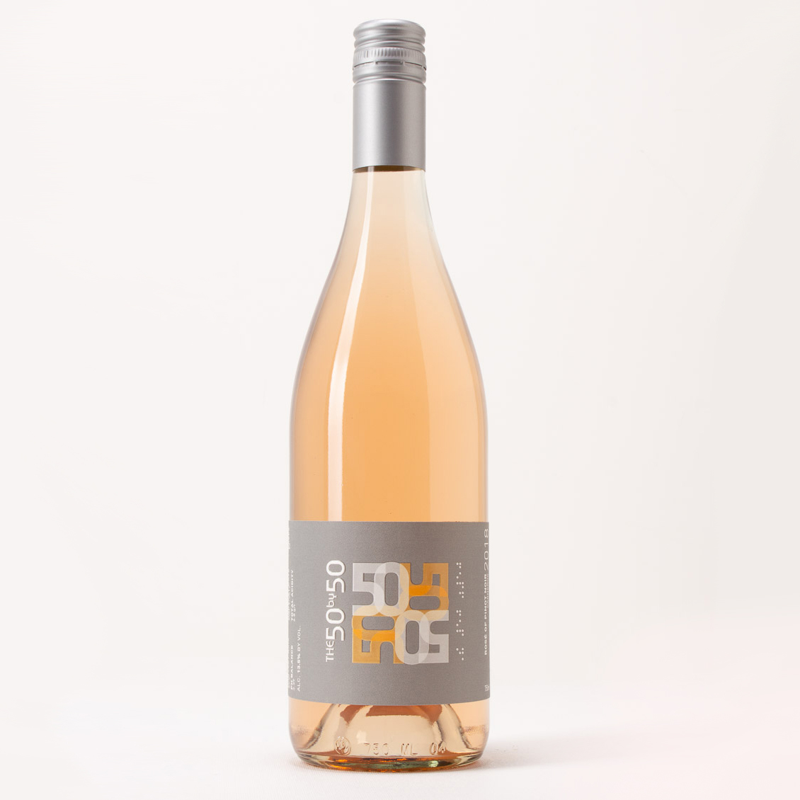 The Fifty by Fifty 2019 Carneros Rosé of Pinot Noir